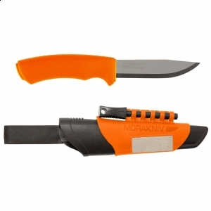 Cutit Mora Bushcraft Survival Orange 3.2mm 12051