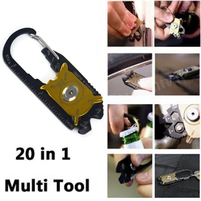 Unealta multifunctionala True Utility FIXR de buzunar 20 in 1 Camping Survival Knife